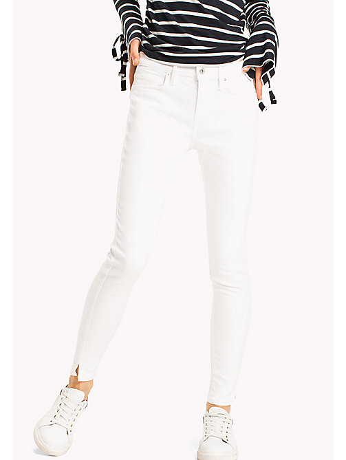 TOMMY HILFIGER Super Slim Fit Ankle Jeans - CLASSIC WHITE - TOMMY HILFIGER Women - main image