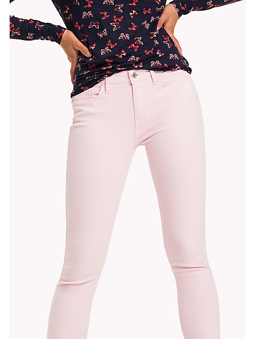 TOMMY HILFIGER Jean ultra slim longueur cheville - ORCHID PINK - TOMMY HILFIGER Jeans - image principale