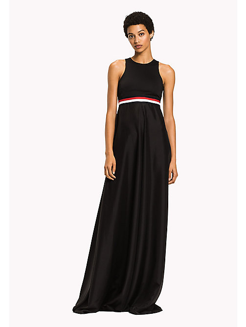 TOMMY HILFIGER Gigi Hadid Maxi Dress - BLACK BEAUTY - TOMMY HILFIGER Maxi - main image