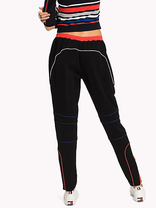 TOMMY HILFIGER Gigi Hadid Speed Sweat Pant - BLACK BEAUTY - TOMMY HILFIGER TOMMYXGIGI - detail image 1
