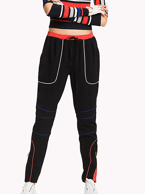 TOMMY HILFIGER Gigi Hadid Speed Sweat Pant - BLACK BEAUTY - TOMMY HILFIGER Clothing - main image