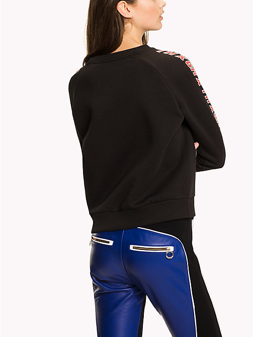 TOMMY HILFIGER Gigi Hadid Team Sweatshirt - BLACK BEAUTY - TOMMY HILFIGER Clothing - detail image 1