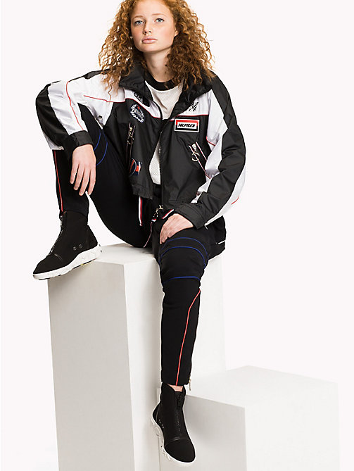 TOMMY HILFIGER Gigi Hadid Speed Windbreaker - BLACK BEAUTY / MULTI - TOMMY HILFIGER TOMMYXGIGI - main image