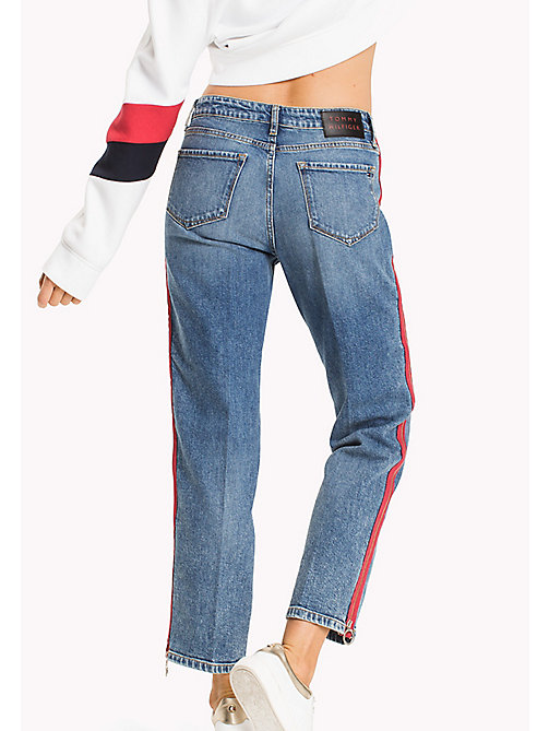 TOMMY HILFIGER Taped Leg Relaxed Fit Jeans - SADA - TOMMY HILFIGER Girlfriend Jeans - detail image 1