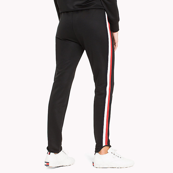 TOMMY HILFIGER Signature Tape Joggers - CRIMSON - TOMMY HILFIGER Clothing - detail image 1