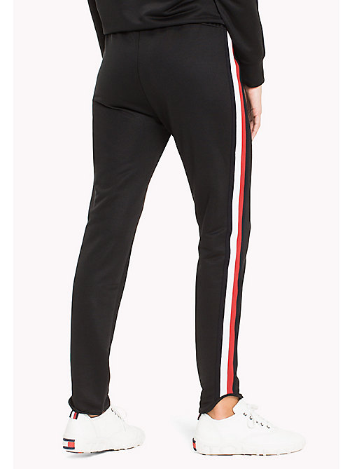 TOMMY HILFIGER Signature Tape Joggers - BLACK BEAUTY - TOMMY HILFIGER Athleisure - detail image 1
