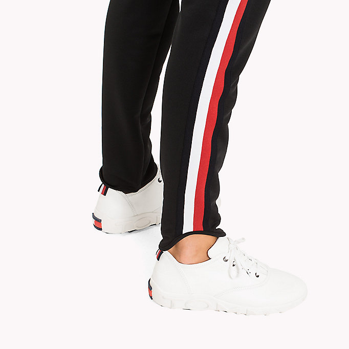 TOMMY HILFIGER Signature Tape Joggers - CRIMSON - TOMMY HILFIGER Clothing - detail image 3