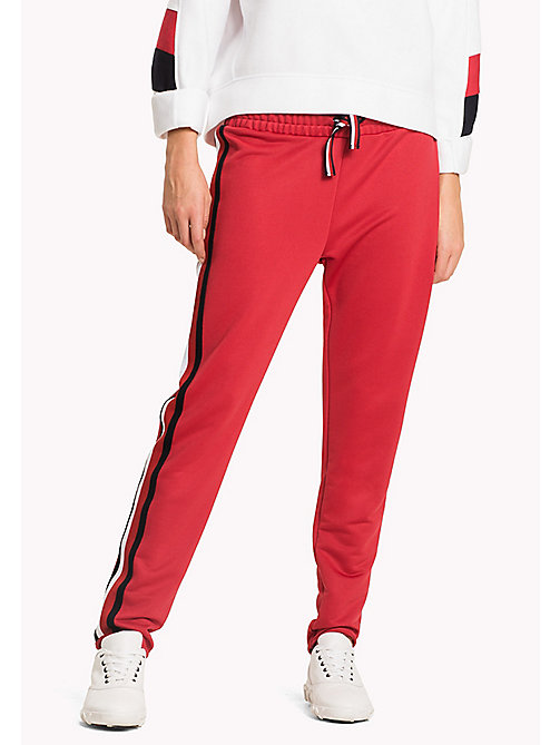 TOMMY HILFIGER Joggingbroek met signature-tape - CRIMSON - TOMMY HILFIGER Athleisure - main image