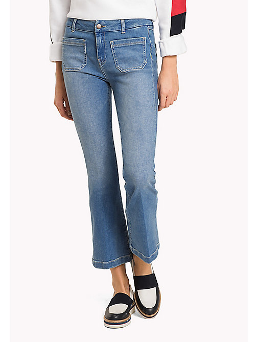 TOMMY HILFIGER Cropped Bootcut Jeans - SKYLAR - TOMMY HILFIGER Women - main image