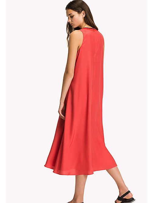 TOMMY HILFIGER Midi Dress - FLAME SCARLET - TOMMY HILFIGER Vacation Style - detail image 1