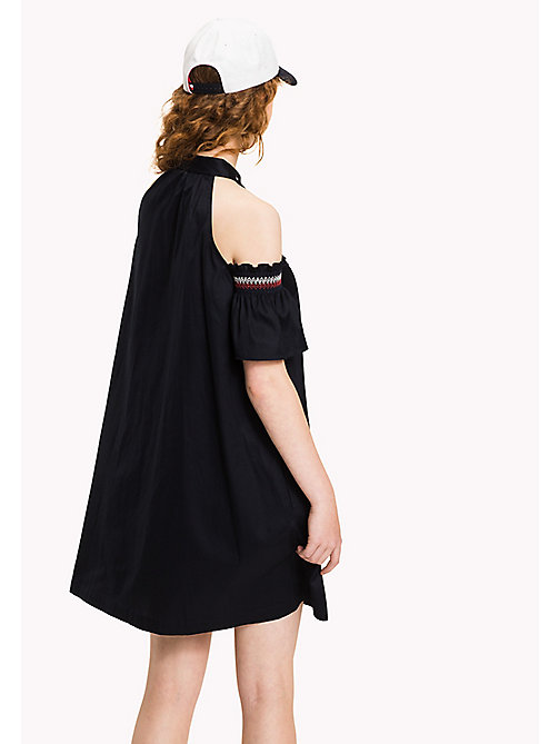TOMMY HILFIGER Off-Shoulder Dress - MIDNIGHT - TOMMY HILFIGER Vacation Style - detail image 1