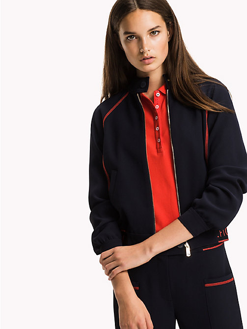 TOMMY HILFIGER Athletic Regular Fit Jacket - MIDNIGHT - TOMMY HILFIGER NEW IN - main image