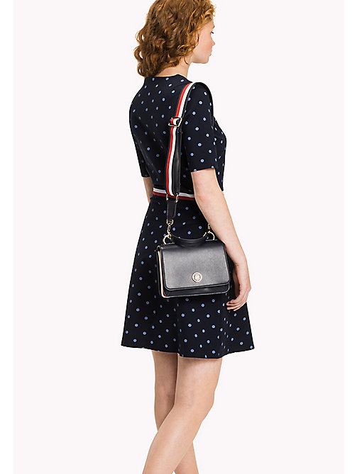 Punto Di Roma Polka Dot Dress - CLASSIC POLKA DOT PRT / NAVY BLAZER -  Clothing - detail image 1