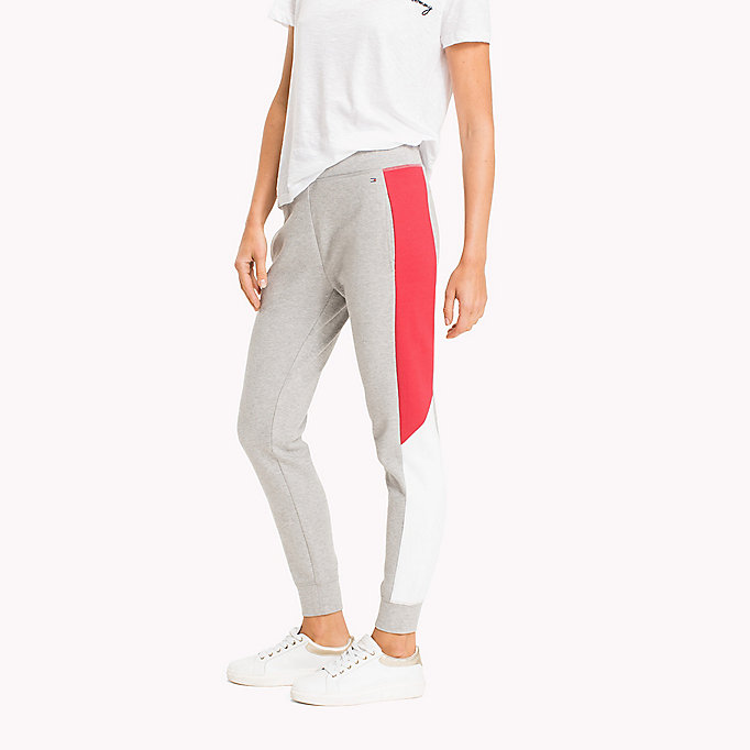 TOMMY HILFIGER Jogginghose in Blockfarben - BLACK BEAUTY - TOMMY HILFIGER Damen - main image 2