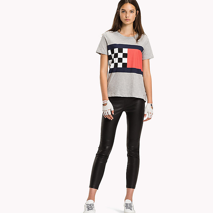 TOMMY HILFIGER Regular Fit T-Shirt - CLASSIC WHITE - TOMMY HILFIGER Women - main image