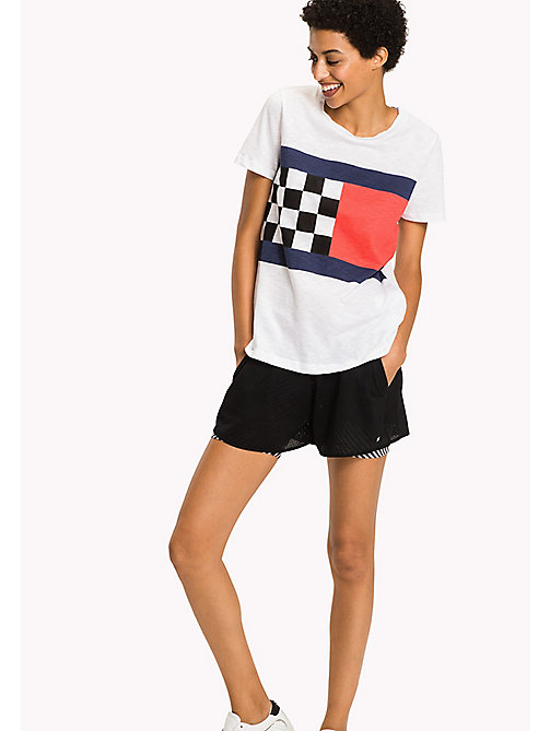 TOMMY HILFIGER Regular Fit T-Shirt - CLASSIC WHITE - TOMMY HILFIGER Vacation Style - main image