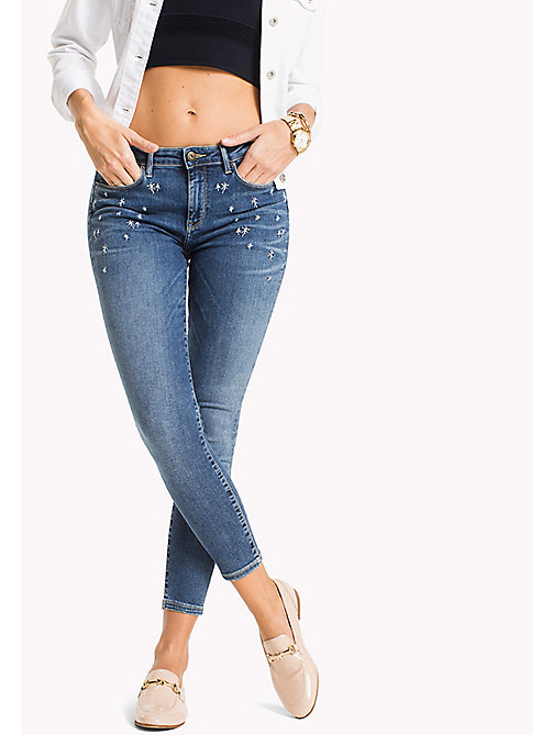 TOMMY HILFIGER Cropped Skinny Fit Jeans - ISA - TOMMY HILFIGER NEW IN - main image