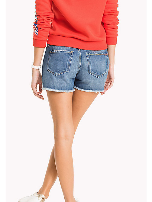 TOMMY HILFIGER Regular Fit Denim Shorts - JULIETTE - TOMMY HILFIGER Trousers & Shorts - detail image 1