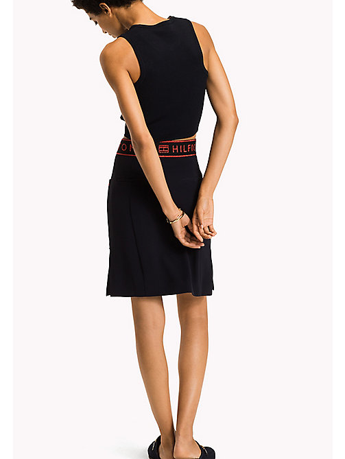 TOMMY HILFIGER A-Line Skirt - MIDNIGHT - TOMMY HILFIGER Clothing - detail image 1