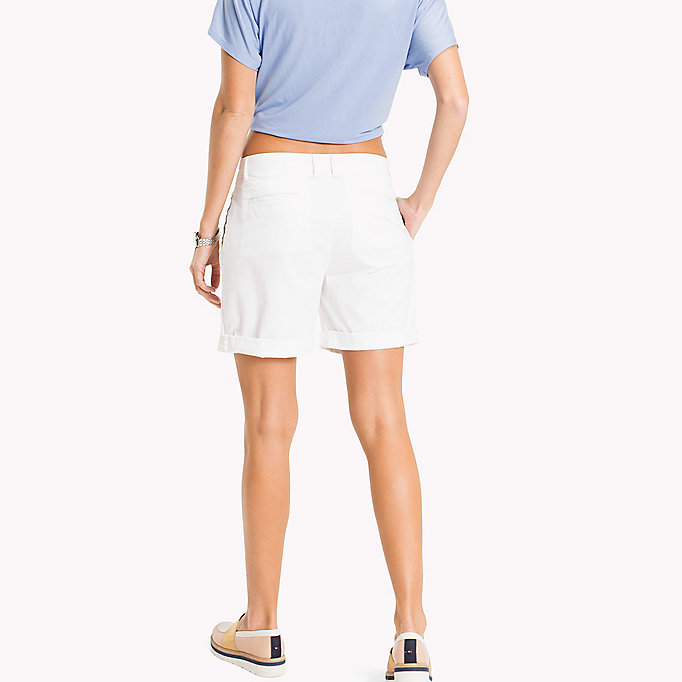 TOMMY HILFIGER Regular Fit Shorts - MIDNIGHT - TOMMY HILFIGER Women - detail image 1