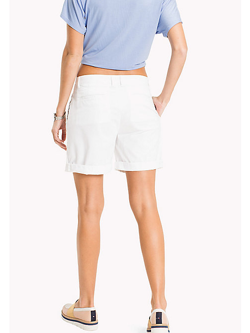 TOMMY HILFIGER Regular Fit Shorts - CLASSIC WHITE - TOMMY HILFIGER Trousers & Shorts - detail image 1