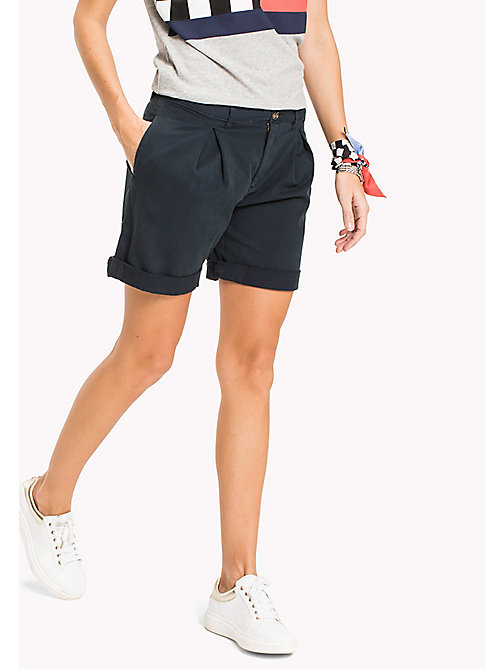 TOMMY HILFIGER Regular Fit Shorts - MIDNIGHT - TOMMY HILFIGER Trousers & Shorts - main image