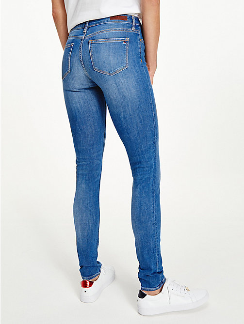 TOMMY HILFIGER Heritage Skinny Fit Faded Jeans - ELFIE - TOMMY HILFIGER Skinny Jeans - detail image 1