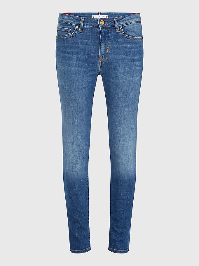 denim venice heritage slim fit faded jeans for women tommy hilfiger
