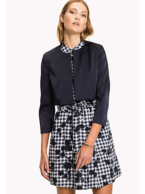 TOMMY HILFIGER Cropped Jacket - MIDNIGHT - TOMMY HILFIGER Occasion wear - main image