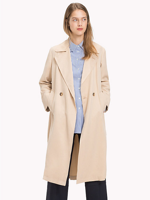TOMMY HILFIGER Trench Coat - WARM SAND - TOMMY HILFIGER Coats - main image