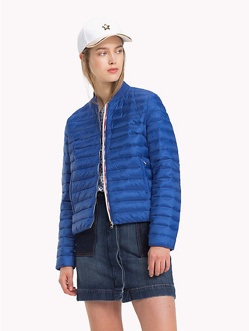 TOMMY HILFIGER Quilted Jacket - BRIGHT COBALT - TOMMY HILFIGER Sustainable Evolution - main image