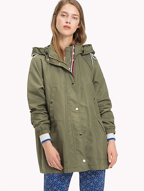 TOMMY HILFIGER Classic Parka Jacket - FOUR LEAF CLOVER - TOMMY HILFIGER Black Friday Women - main image