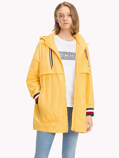TOMMY HILFIGER Long Parka Jacket - SAMOAN SUN - TOMMY HILFIGER Clothing - main image