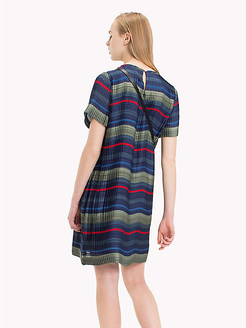 TOMMY HILFIGER Multicoloured Stripe Dress - ALL OVER STP - TOMMY HILFIGER Dresses - detail image 1