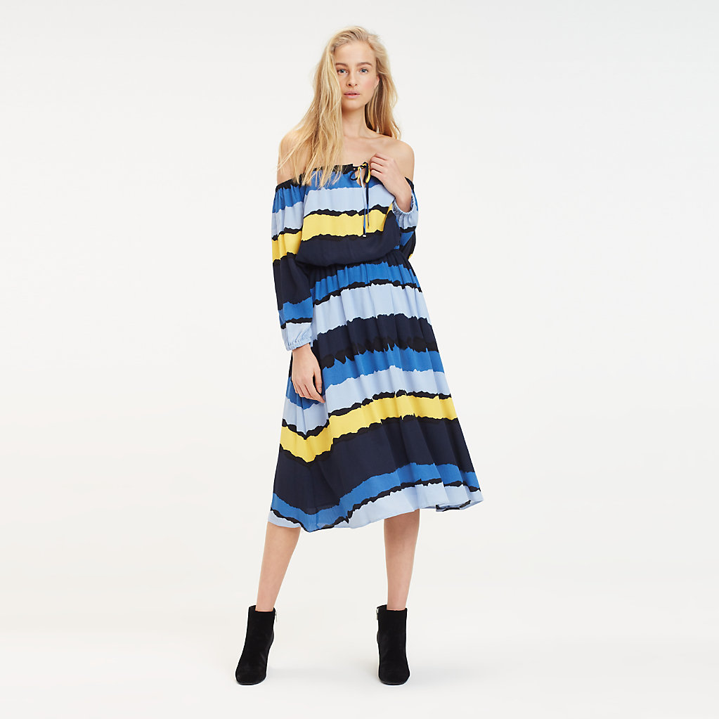 Tommy Hilfiger - Tie Dye Midi Dress - 1