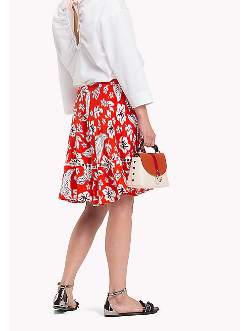TOMMY HILFIGER Tropical Print Skirt - TROPICAL PRT / FIESTA - TOMMY HILFIGER Occasion wear - detail image 1