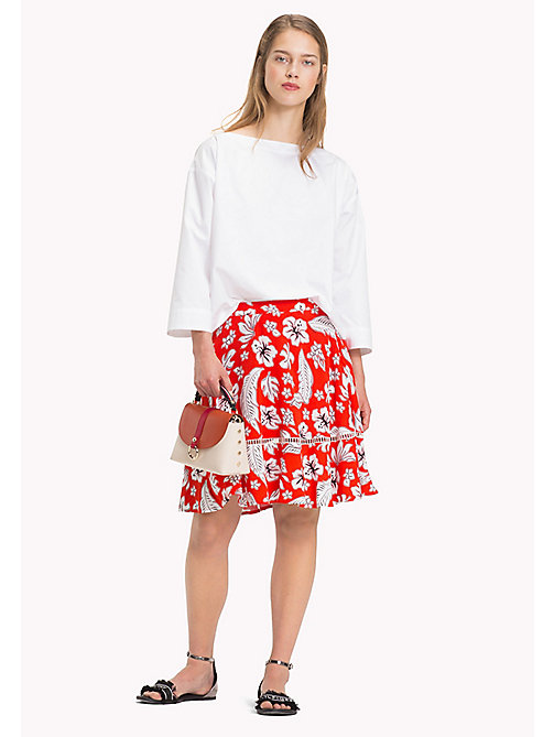 TOMMY HILFIGER Tropical Print Skirt - TROPICAL PRT / FIESTA - TOMMY HILFIGER Vacation Style - main image
