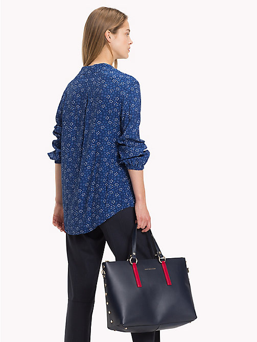 TOMMY HILFIGER V-Neck Blouse - DITSY FLORAL / NAVY PEONY - TOMMY HILFIGER NEW IN - detail image 1