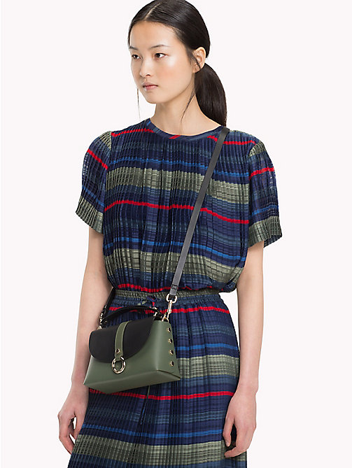 TOMMY HILFIGER Top met multicolorstreep - ALL OVER STP - TOMMY HILFIGER NIEUW - main image