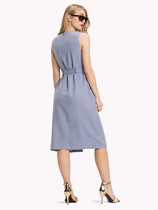 TOMMY HILFIGER V-Neck Wrap Around Dress - EVENTIDE - TOMMY HILFIGER Occasion wear - detail image 1