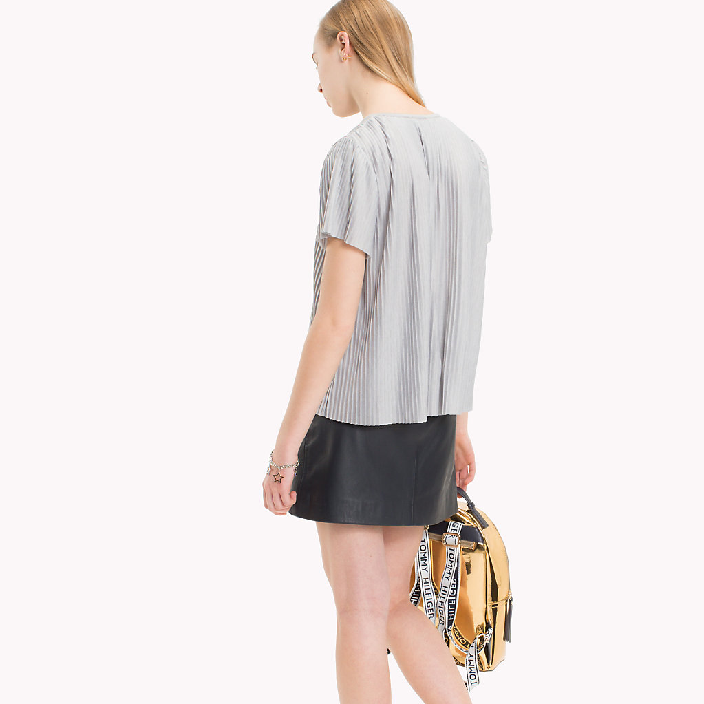 Tommy Hilfiger - Pleated T-Shirt - 2