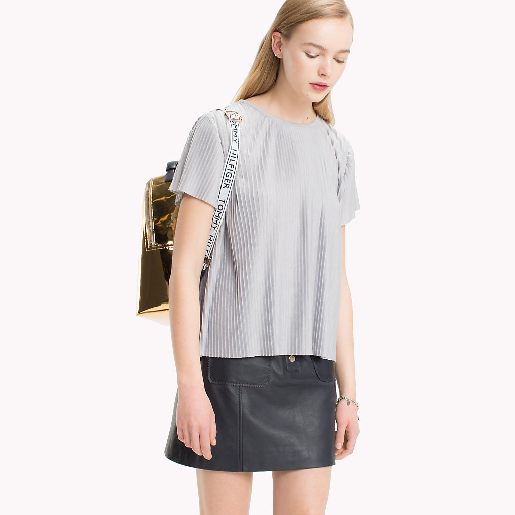 Tommy Hilfiger - Pleated T-Shirt - 1
