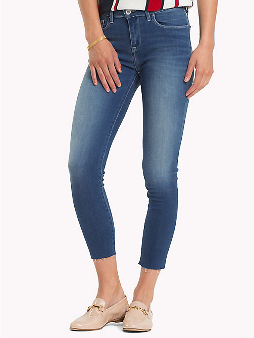 TOMMY HILFIGER Cropped Power Stretch Super Slim Jeans - CARA - TOMMY HILFIGER Skinny Jeans - main image