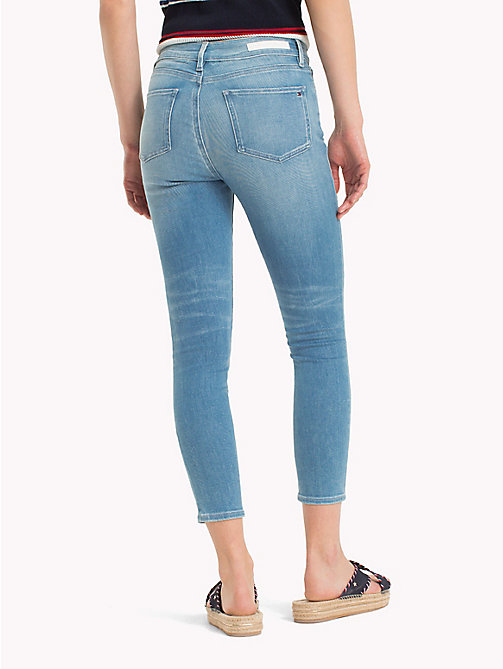 TOMMY HILFIGER High Rise Cropped Extra Slim Fit Jeans - EVANA - TOMMY HILFIGER Skinny Jeans - detail image 1