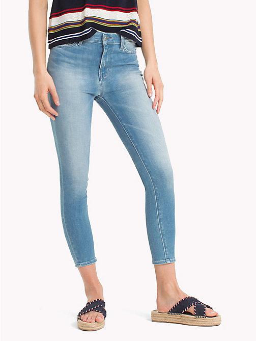 TOMMY HILFIGER High Rise Cropped Extra Slim Fit Jeans - EVANA - TOMMY HILFIGER Skinny Jeans - main image