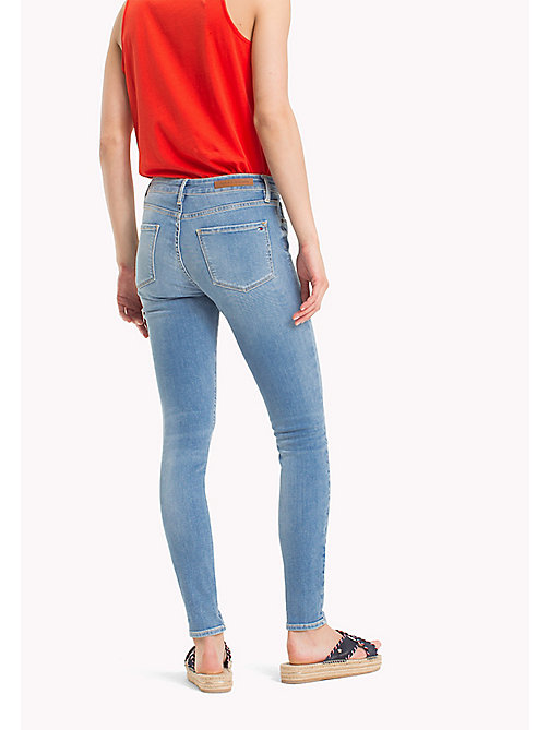 TOMMY HILFIGER Super Slim Jeans with Turn Up - LILOU - TOMMY HILFIGER Vacation Style - detail image 1
