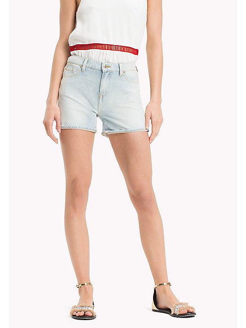 TOMMY HILFIGER Roll-Hem Super Stretch Denim Shorts - HOLLIS - TOMMY HILFIGER Vacation Style - main image