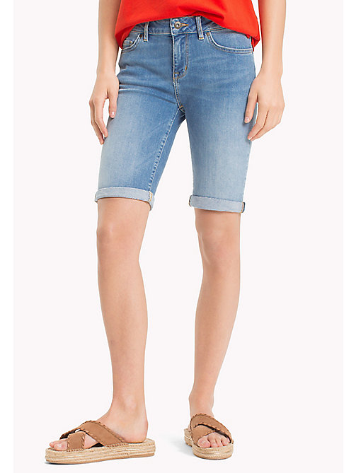 TOMMY HILFIGER Skinny Mid Thigh Shorts - LILOU - TOMMY HILFIGER Trousers & Shorts - main image