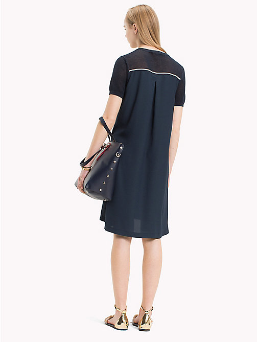TOMMY HILFIGER Shirttail Hem Dress - MIDNIGHT - TOMMY HILFIGER Mini - detail image 1