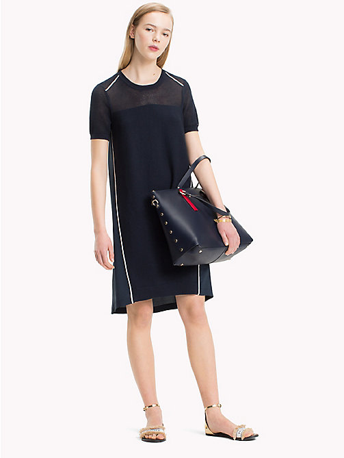 TOMMY HILFIGER Shirttail Hem Dress - MIDNIGHT - TOMMY HILFIGER Mini - main image